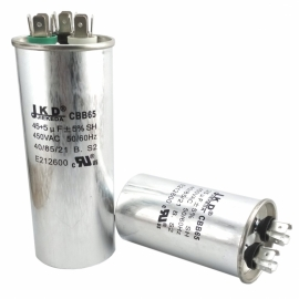 Конденсатор пусковой CBB65 (55mF, 450VAC)