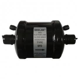 Фильтр-осушитель антикислотный (с клапанами шредера, на всасывающую линию) SIKELAN SFD 13-5S