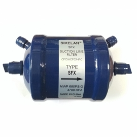 Фильтр-осушитель (с клапанами Шредера, на всасывающую линию) SIKELAN SFX- 285Т