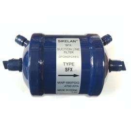 Фильтр-осушитель (с клапанами Шредера, на всасывающую линию) SIKELAN SFX- 287Т